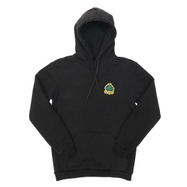 Zeropolis Industries hoodie black washed