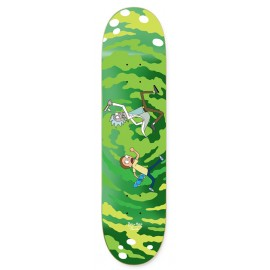 Primitive Rick & Morty deck Portal glow 8""