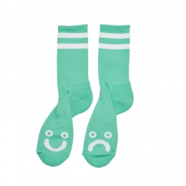 Polar Happy Sad socks mint