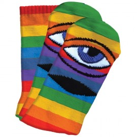 Toy Machine Sect Eye socks rainbow multicolor