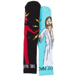 Toy Machine Bury The Hatchet socks multicolor