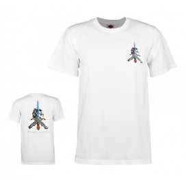 Powell Peralta Skull And Sword tee S/S white