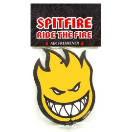 Spitfire Big Head air freshner yellow