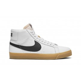 Nike SB Blazer mid ISO white black safety orange