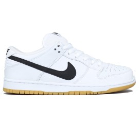 Nike SB Dunk Low ISO white black white