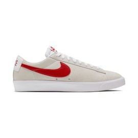 Nike SB Blazer Low GT white university red