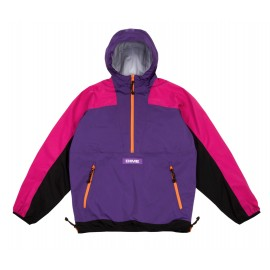Dime Mtl Pullover Hooded Shell purple