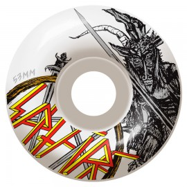 Spitfire No Mercy wheels Classic 99A white 53mm