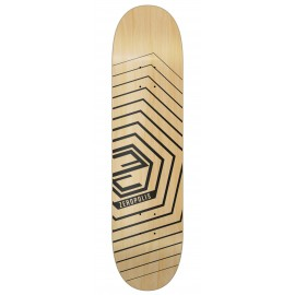 Zeropolis Hexagon deck black 8.5""