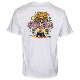 Santa Cruz Salba tee S/S Witch Doctor white