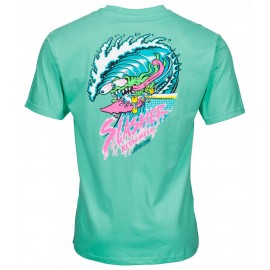 Santa Cruz Wave Slasher tee S/S spearmint