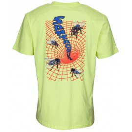 Santa Cruz Fly Mentional tee S/S limelight