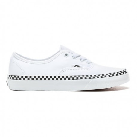 Vans Authentic Classic Check Foxing true white