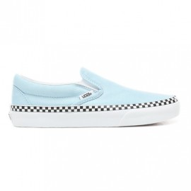 Vans Slip-On Classic Check Foxing cool blue