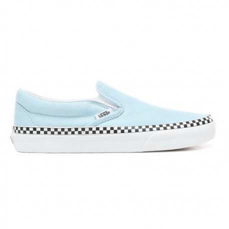 Slip-On Classic Check Foxing cool blue