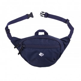 Magenta Banana Bag S navy