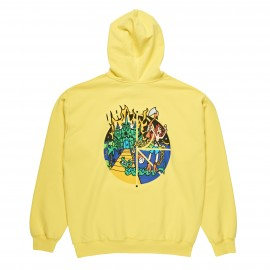 Polar Castle Fill Logo hood yellow