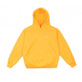 Dime Mtl Classic Embroidered hoodie yellow