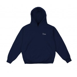 Dime Mtl Classic Embroidered hoodie navy
