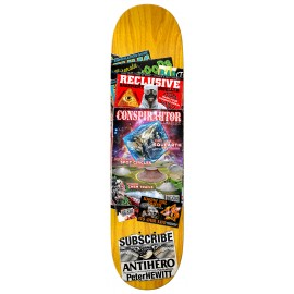 Antihero Peter Hewitt deck Back Issues 8.75""