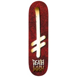 Deathwish Holy Gang Logo deck red 8.375""