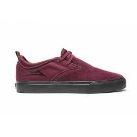 Lakai Riley 2 burgundy black suede