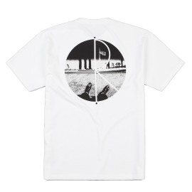 Polar Happy Sad Fill Logo tee S/S white