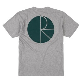 Polar Fill Logo tee S/S heather grey green