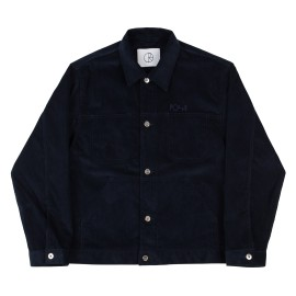 Polar Cord jacket police blue