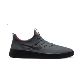 Nike SB Nyjah Free dark grey black gym red