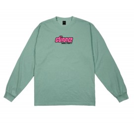 Dime Mtl Dance Party L/S tee washed green