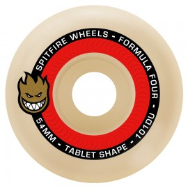 Spitfire Formula Four Tablet Natural 101D white 54mm