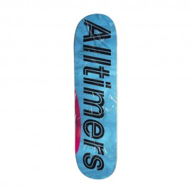 Alltimers Packing Tape Logo deck blue 8""