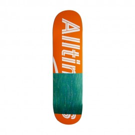 Alltimers Trace Logo deck orange 8.1""