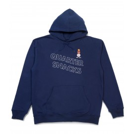 Quartersnacks Snackman hood navy