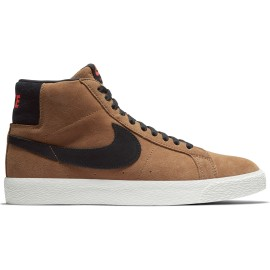 Nike SB Blazer Mid Zoom light british tan black