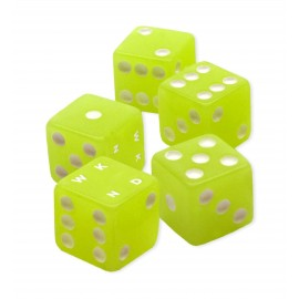 WKND Dice glow in the dark