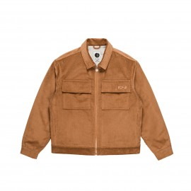 Polar Cord jacket tan