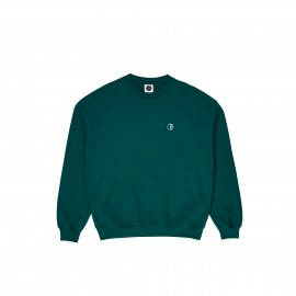 Polar Team crewneck dark green