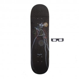 Magenta King Of Self 3D deck 8.4""