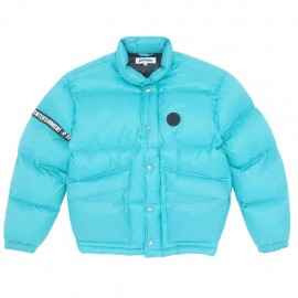 Fucking Awesome World Entertainment Puffer jacket teal