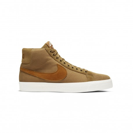 Nike Sb Blazer Mid ISO Orange Label QS Oski muted bronze burnt sienna sail