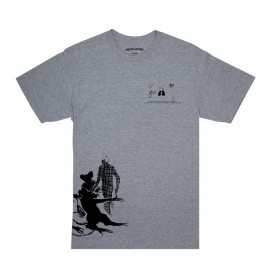 Fucking Awesome Rats tee heather grey
