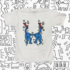 Diamond Keith Haring Stand Together tee white