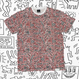 Diamond Keith Haring 83 tee multi