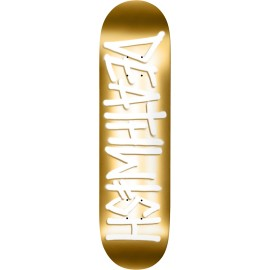 Deathwish Deathspray deck gold 8.25""