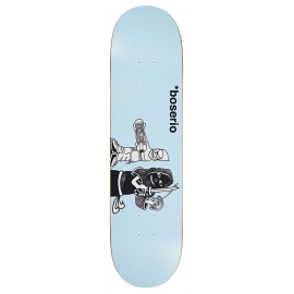Polar Nick Boserio deck Knock Knock light blue 7.875""