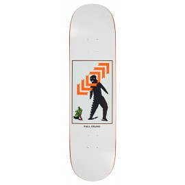 Polar Paul Grund deck Framed white 8""