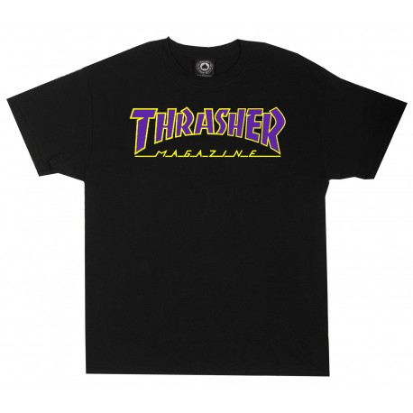 Thrasher Thrasher Outlined tee S/S black