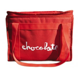 Chocolate Chocolate Chunk cooler bag red